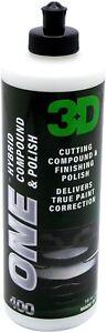 3D ONE Hybrid Nano Ceramic Compound Polish AIO True Paint Correction 470ml