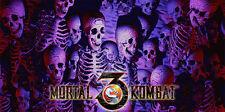 Mortal Kombat 3 Arcade Alternate Control Panel Overlay MK3 MKIII UMK3 CPO Midway