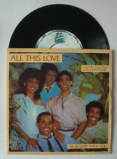 "7"" DeBarge All This Love Frence Motown Ps 1982 Soul Funk"