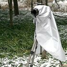 Pro Digital SLR Camera RAIN COVER Lens Body Clear Window M for Canon Nikon Sony