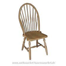 Stuhl,Windsor Stuhl,Amerikanischer Stil,Holzstuhl,Küchenstuhl,Massiv, Weichholz