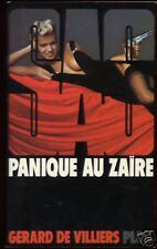 Livre S A S....SAS...PANIQUE AU ZAÏRE