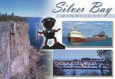 Postcard Minnesota MN Silver Bay Superior Lake County Palisade Head MINT
