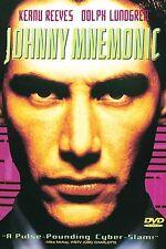 Johnny Mnemonic DVD, Keanu Reeves, Dolph Lundgren, Dina Meyer, Ice-T, Takeshi Ki