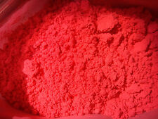 1 Oz Fluorscent Red Orange Pigment For Soap Cosmetic