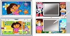 nintendo DS Lite - DORA THE EXPLORER - 4 Piece Sticker Skin vinyl