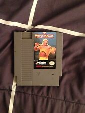WWF Wrestlemania (Nintendo, 1989) NES GAME ! Free shipping ! Classic Cartridge!