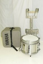 """Yamaha 13"""" SFZ with MTS Marching Band Snare Drum with Harness and Case Silver"""