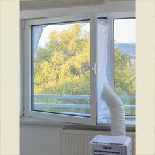 Fensterabdichtung für mobile Klimageräte für Fenster bis 1,0m x 1,4m