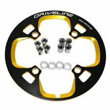 Driveline Chain Guard 44T, BCD 104MM, Black x Gold