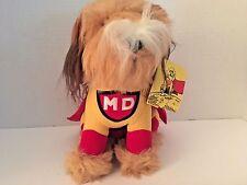 "Vintage 1984 Carnation Plush Mighty Dog Dakin Tag 10"""