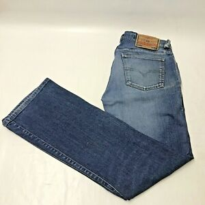 Diesel Industry Type RR55 Blue Denim Jeans Mens Size W34 L32 Regular Straight