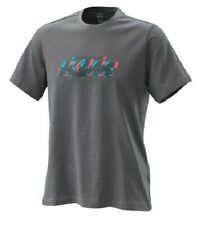 KTM T-SHIRT RADICAL LOGO TEE GREY SIZE L 3PW200022804
