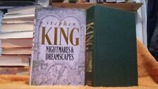 Stephen King Horror & Ghost Stories Antiquarian & Collectable Books