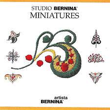MINIATURES - Studio Bernina Embroidery Memory Card for Artista 170 180 Ver 2.0