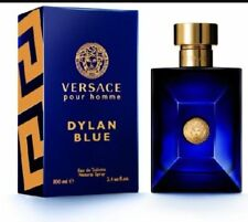 VERSACE DYLAN BLUE 100ML EDT SPRAY MEN'S FOR HIM - BRAND NEW AND SEALED