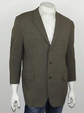 BROOKS BROTHERS Heather Gray Lightweight 100% Pure Wool Sportcoat Blazer 44S