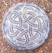 Celtic knot stepping stone mold plaster concrete cement casting mould