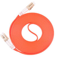 15m LC UPC to LC UPC Duplex 50/125 OM2 Multimode Fiber Optic Patch Cord Cable