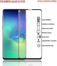 Full Glue 5D Tempered Glass Screen Protector Cover for Samsung Galaxy S10 Plus