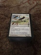 100 Bulk magic the gathering white common cards mtg Job Lot