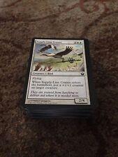 50 Bulk magic the gathering white common cards mtg Job Lot