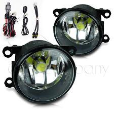 For 2006-2008 Mitsubishi Endeavor Fog Lights w/Wiring Kit & COB Bulbs - Clear