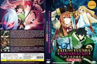 The Rising of the Shield Hero (Vol.1 - 25 End) ~ 2-DVD ~ English Dubbed Version