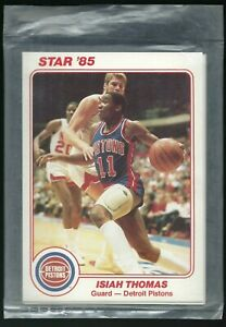 1985 Star Team Supers Detroit Pistons Unopened Bag including Isiah Thomas #DP1