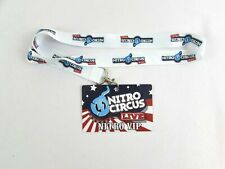 Nitro Circus Live VIP Pass Card & Lanyard Travis Pastrana MTV