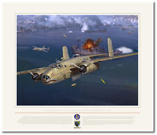 The Sword and the Pen by Jack Fellows - B-25 Mitchell - Aviation Art Prints