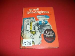 SMALL GAS ENGINES ALFRED C. ROTH 2 & 4 CYCLE SERVICE REPAIR TROUBLESHOOTING 1975