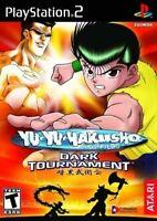 PS2 / Sony Playstation 2 Spiel - Yu Yu Hakusho Dark Tournament mit OVP