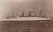 France Collectable Cruise Liner Postcards