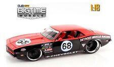 JADA Big Time 1:18 Scale #68 Detroit Muscle Racing 1968 CHEVY CAMARO Diecast