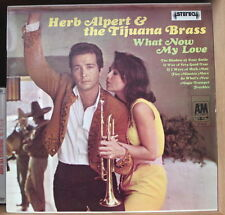 "HERB ALPERT AND THE TIJUANA BRASS ""WHAT NOW MY LOVE"" FRENCH LP A&M"