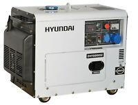 Generatore Di Corrente Diesel 6 Kw Elettrico Silenziato Monofase Hyundai 65237