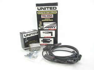 NEW United Tune-Up Kit Spark Plug Wires PCV & Fuel Filter 4-7412 Chevy 2.2 90-91
