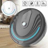 Sweeping Robot Smart Vacuum Cleaner Floor Edge Dust Clean Auto Suction Sweeper!