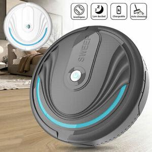 Sweeping Robot Smart Vacuum Cleaner Floor Edge Dust Clean Auto Suction SweeYXAU