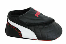 Puma Drift Cat 6 LW Crib Soft Sole Black Synthetic Baby Trainers 305184 01 A1C