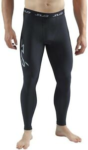 Sub Sports Cold Mens Compression Tights Black Soft Thermal Base Layer Leggings