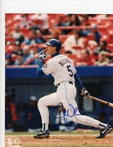 John Olerud Toronto BlueJays NY Mets Signed Autographed 8x10 Glossy Photo COA
