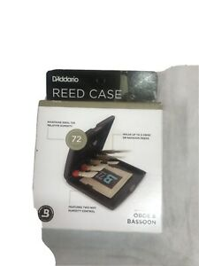 Rico Oboe & Bassoon Reed Case with Humidity Control RVCASE05