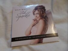 Kylie Minogue - Pink Sparkle Fragrance 5 Track New & Exclusive 2010 CD VERY RARE