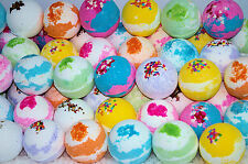 Bath Bombs 7. oz. 10 Pack LARGE  Assorted Colors & Scents .LUSH & LUXURIOUS
