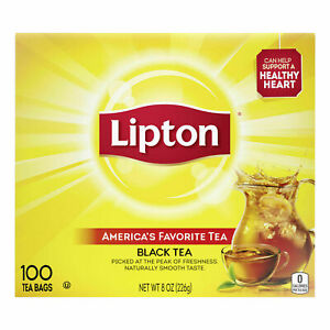 Lipton 100% Natural Black Tea (100 tea bags)