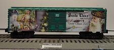 LIONEL 6-83445 SMITHSONIAN OLD ST. NICK BOX CAR REEFER CHRISTMAS SANTA O GAUGE