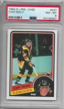 Cam Neely Vancouver Canucks 1984 O-Pee-Chee Rookie Card - PSA 8