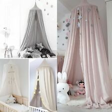 Kids Baby Bed Canopy Mosquito Net Curtain Bedding Crib Canopy Nursery Decor & Nursery Canopies u0026 Netting | eBay